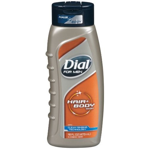 Dial for Men Ultimate Clean Hair &amp Body Wash 16Ounce Bottles (Pack of 3)