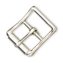 Strap Buckle 5/8 (1.6 Cm) Nickel Plated Item #1538-00 By Tandy Leather Factory