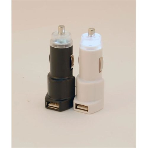 The Flashlighter USB Car Charger- Clear