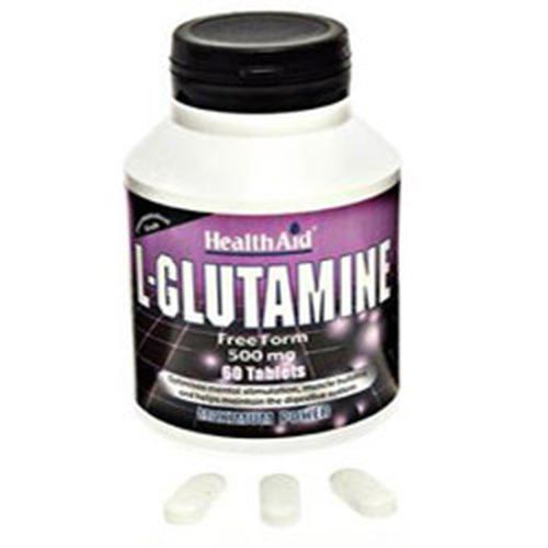 Healthaid L-glutamine 500mg - 60 Tablets