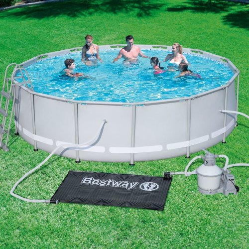 Bestway Solar Pool Heating Mat Pad 1.1m x 1.71m - Navy Blue
