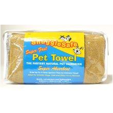Snugglesafe Micro Fibre Brown Towel In Zip Bag 92x46cm (36x18'') (Pack of 3)