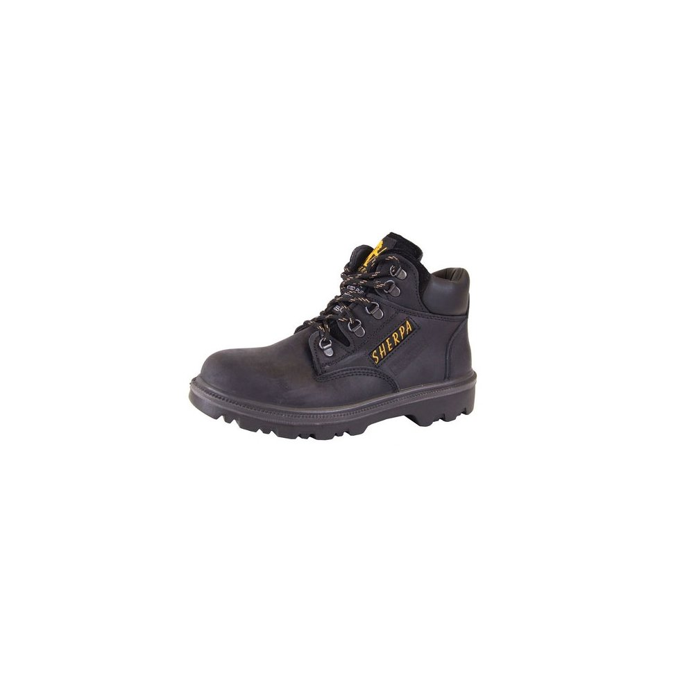 d350d7076e1 Click SCBBL06.5 Sherpa Safety Chukka Boots With Steel Toecap and Midsole  Black Size 6.5