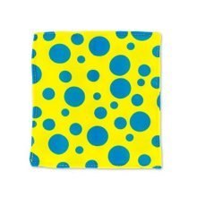 Baby Paper Crinkly Baby Toy (Yellow with Blue Dots)