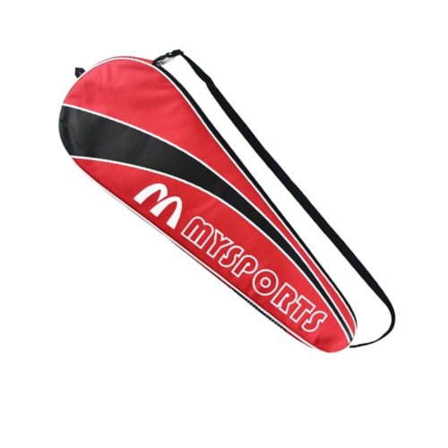 Nylon Badminton Racket Bag,Red