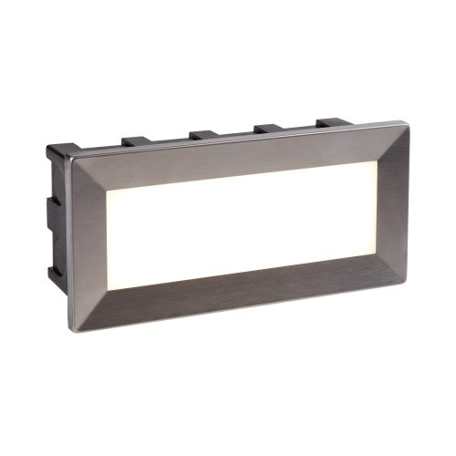 LED Indoor & Outdoor Recessed Rectangle In Chrome