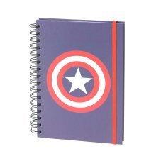 Captain America A5 Notebook