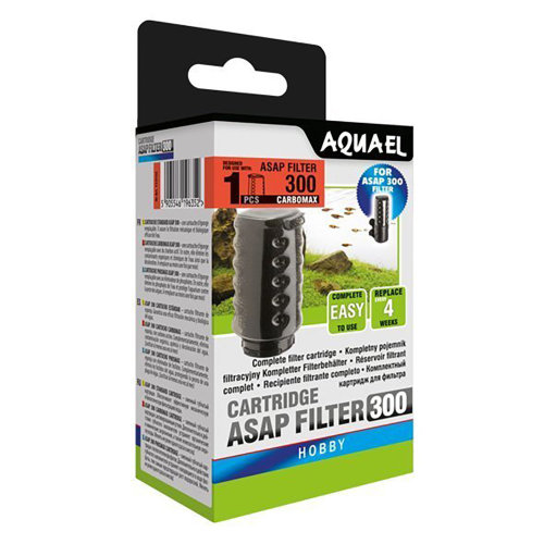 Aquael ASAP 300 Filter Cartridge with Carbomax