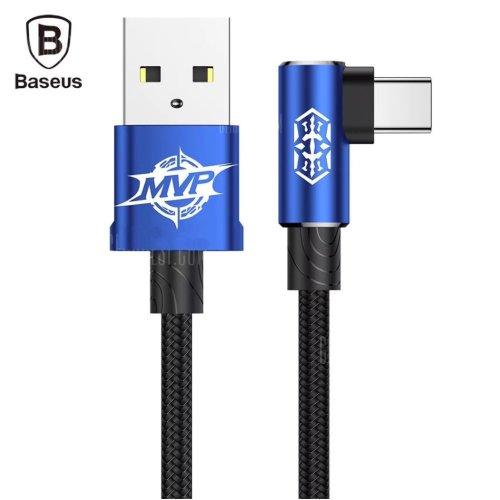 Baseus MVP Braided Type-C Cable 1 Metre Blue