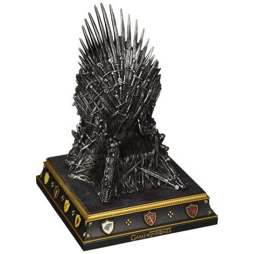 Official Game of Thrones Iron Throne Replica Bookend - Boxed