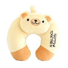 U-Shaped Pillow Cartoon Pillow Cervical Pillow Office Pillow (Tiny Bear)
