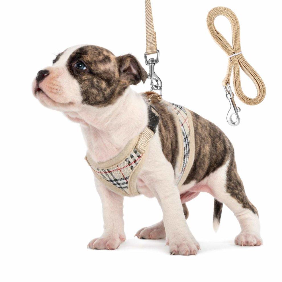 Unihubys Small Dog Harness Cat Harness Soft Mesh Dog Harness No Pull