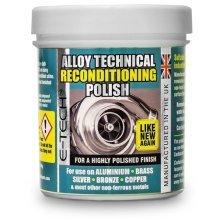 E-tech Alloy Technical Reconditioning Polish - 250ml - Metal Brass Etech Chrome -  technical metal polish brass etech chrome cleaner aluminium