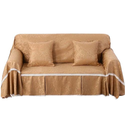 3 Seat Sofa Slipcover Elegant Couch Cover Furniture Protector #27