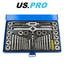 US PRO 40pc SAE / Imperial Tap And Die Set 2626
