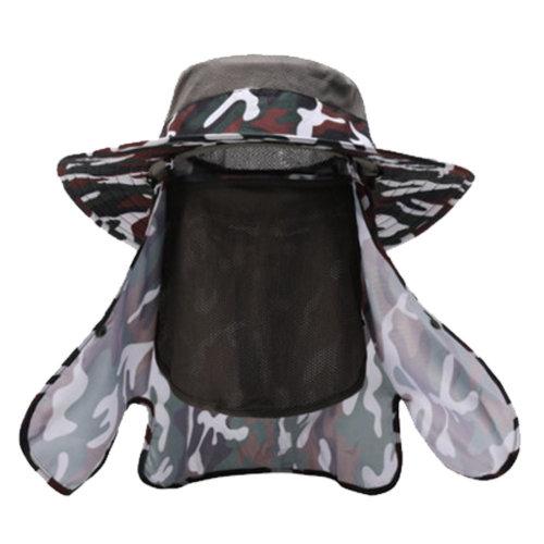 Summer Sun UV Protection Fisherman Visor Outdoor Cap#G
