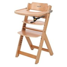 Safety 1st Timba Wooden Highchair with Tray (Natural)