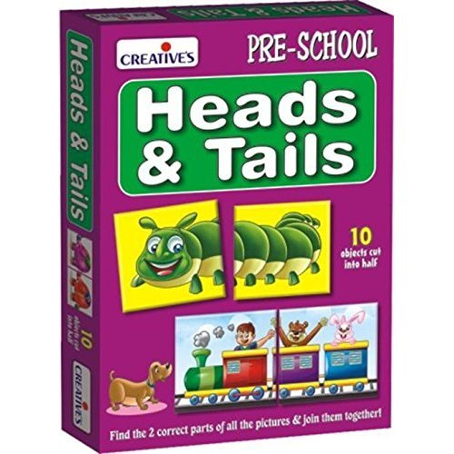 Early Years Heads & Tails Game - Cre0780 Creative -  cre0780 creative early years heads tails