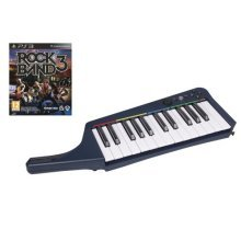 Rock Band 3 with Wireless Keyboard and Software (PS3)