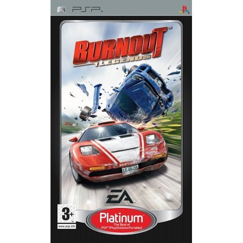 Burnout Legends - Burnout Legends Platinum (PSP)