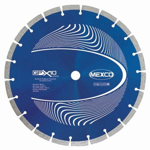 Mexco 300Mm Concrete X10 Grade Diamond Blade