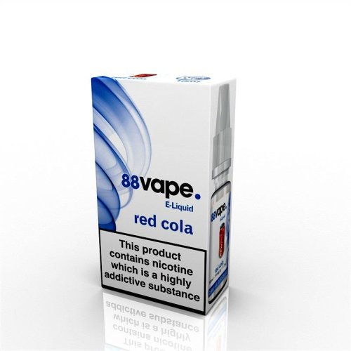88 Vape E-Liquid Nicotine 11mg Red Cola 10ML