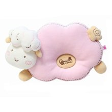 Little Cute Anti-roll Pillow Prevent Flat Head For 0-1 Years Pink Sheep