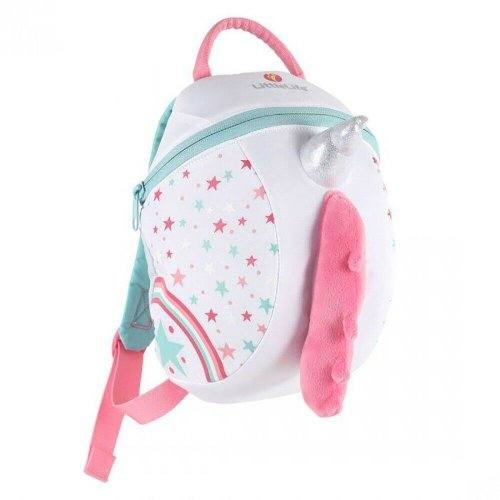 LittleLife Big Kids Unicorn Backpack 2 Inside Pockets Age 3-5 Years