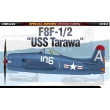 Aca12313 - Academy 1:48 - F8f-1/2 Uss Tarawa