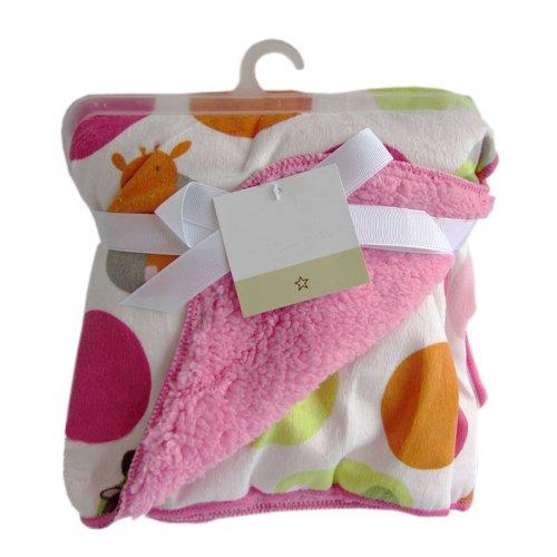 [Zoo] Multifunction Soft Velvet Warm Blanket/Throw for Baby 76x102cm