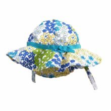 Summer Baby Girl Caps Cotton Sun Hat For 2-3 Years Baby Floral