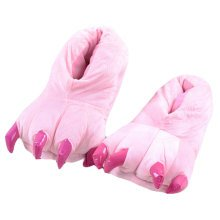 Lovely Dinosaur Claw Indoor Slippers Warm Cozy Fashion Slipper Best Baby Gift E
