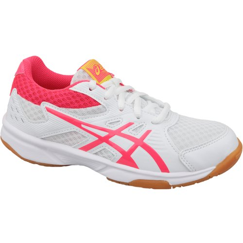 Asics Upcourt 3 GS 1074A005-104 Kids White volleyball shoes