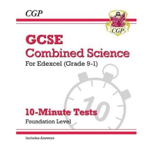 New Grade 9-1 GCSE Combined Science: Edexcel 10-Minute Tests (with answers) - Foundation