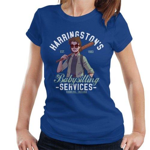 Stranger Things Harringtons Babysitting Agency Women's T-Shirt