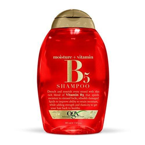 OGX Moisture Plus Vitamin B5 Shampoo, 13 Ounce