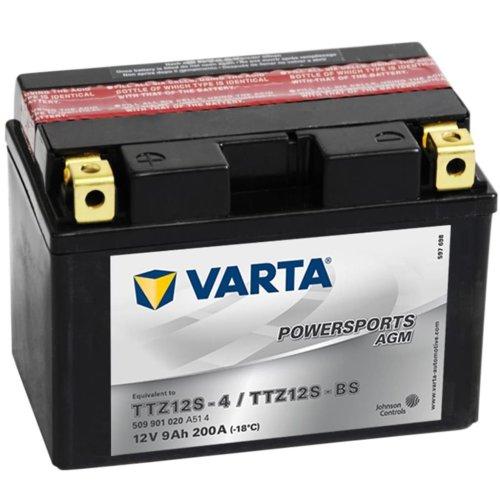 Varta AGM Battery 12 V 9 Ah YTZ12S-4 / YTZ12S-BS