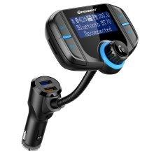Bluetooth Hands-free Car MP3 Player FM Transmitter Wireless Radio Audio Adapter