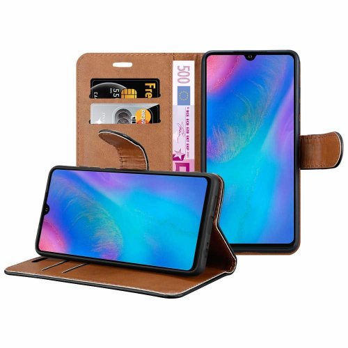 For Huawei P30 Leather Wallet Magnetic Case Cover