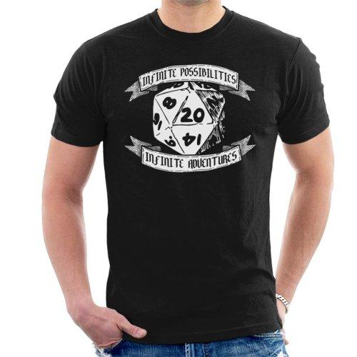 Infinite Possibilities Infinite Adventure Men's T-Shirt