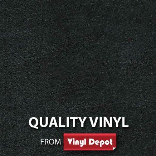 d-c-fix Sticky Self-Adhesive Decor Vinyl Fablon Leather Black 450mm/m