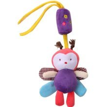 Toys Animal Plush Fabric Campanula Bedside Bell Baby Rattles Crib Accessories