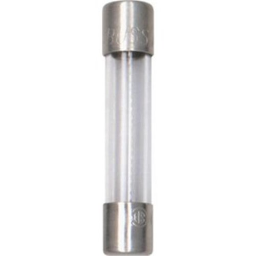Bussmann Fuses BP/AGC-15-RP 15A Glass Auto Tube Fuse