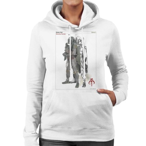 Star Wars Boba Fett Bounty Hunter Slave I Women's Hooded Sweatshirt