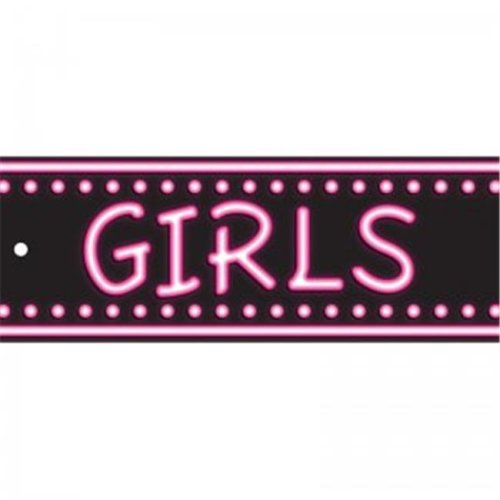 Ashley Productions ASH10656 Laminated Hall Pass Neon Girls