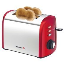 Breville Collection 2 Slice Toaster Browning Control - Brushed Red (VTT381)