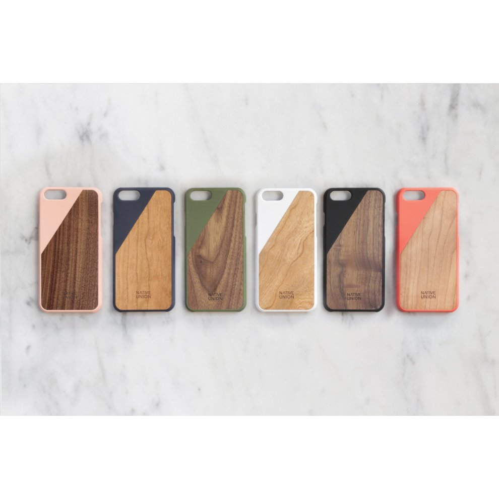 Native Union Clic Wooden Case For Iphone 6 Plus Handcrafted Real Wood Protective Slim