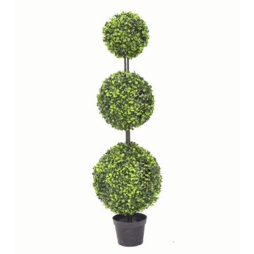 Triple Ball Boxwood Topiary Tree