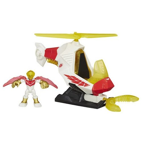 Playskool Heroes Marvel Super Hero Adventures Marvel's Falcon Talon Copter with Figure