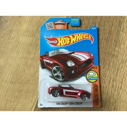 Hot Wheels 2016 HW Digital Circuit Ford Shelby Cobra Concept #24